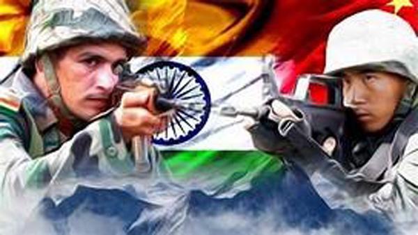 भारत-चीन सेना में फिर झड़प