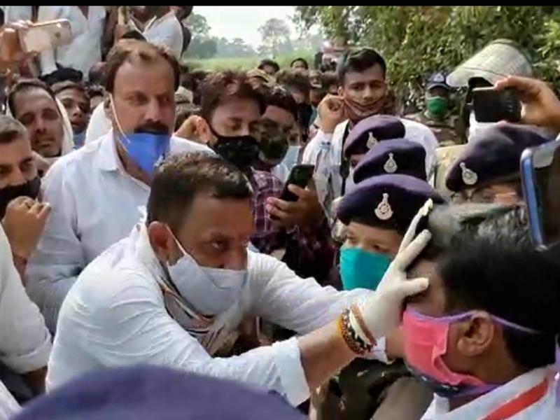 देखिए, किस पूर्व मुख्यमंत्री के विधानसभा क्षेत्र में एसडीएम के चेहरे पर पोत दी गई कालिख