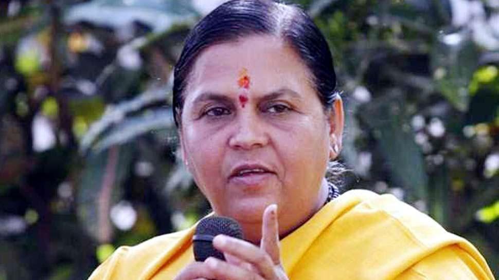 पूर्व केंद्रीय मंत्री उमा भारती कोरोना पॉजिटिव, उत्तराखंड में क्वारंटाइन