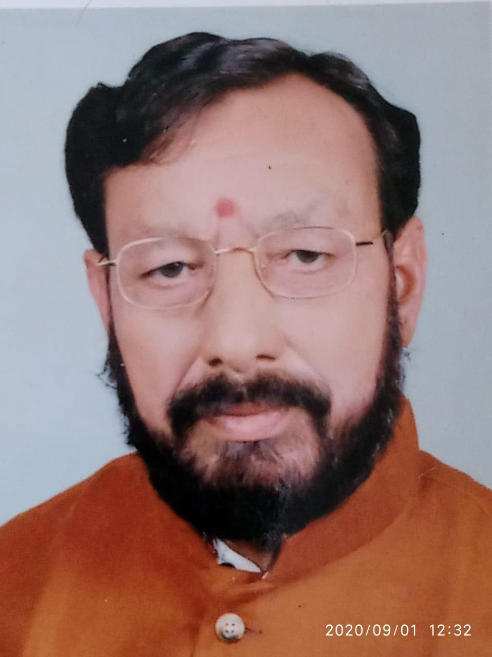 पिथौरागढ़ के पूर्व भाजपा विधायक कृष्ण चंद्र पुनेठा का निधन