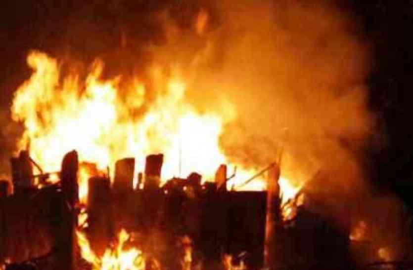 बरेली में आग ने ऐसा मचाया तांडव, दंग रह गए लोग