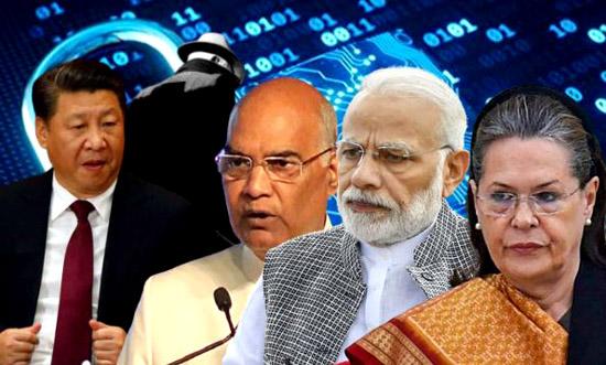 खुलासा : राष्ट्रपति-प्रधानमंत्री सहित 10 हजार भारतीयों की जासूसी करवा रहा चीन