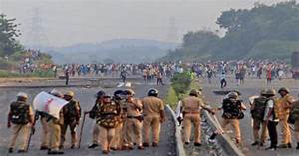 राजस्थान में भड़की हिंसा से पुलिस फायरिंग में दो की मौत, RAF तैनात