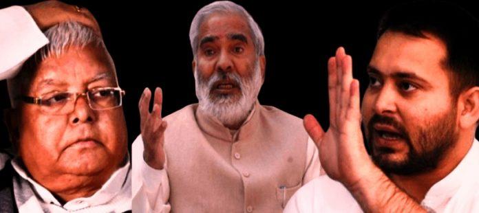 लालू को झटका : रघुवंश प्रसाद सिंह ने राजद से दिया इस्तीफा