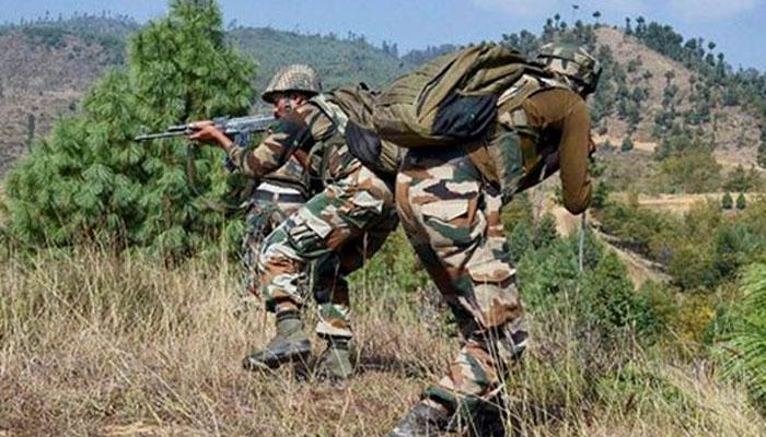 जम्मू कश्मीर में सुरक्षा बलों ने दो आतंकी मार गिराए
