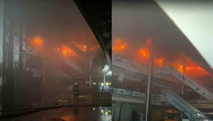मुंबई के मॉल में भीषण आग, सुरक्षित निकाले गए 3500 लोग