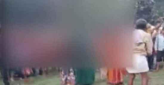 'डायन' भगाने के नाम पर तीन महिलाओं की निर्वस्त्र कर पिटाई