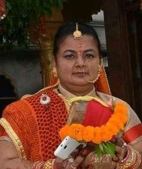 सल्ट विधायक सुरेन्द्र जीना की पत्नी नेहा जीना का निधन