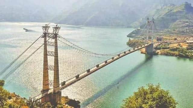 टिहरी में देश के सबसे लंबे सस्पेंशन ब्रिज का सीएम त्रिवेंद्र ने किया लोकार्पण