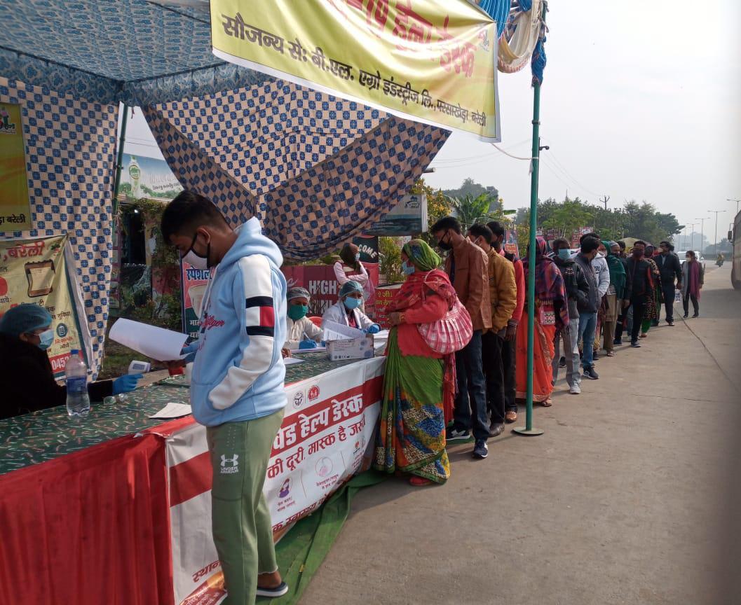 दिल्ली से आ रही रोडवेज बस में मिले 8 कोरोना पाजिटिव, हड़कंप