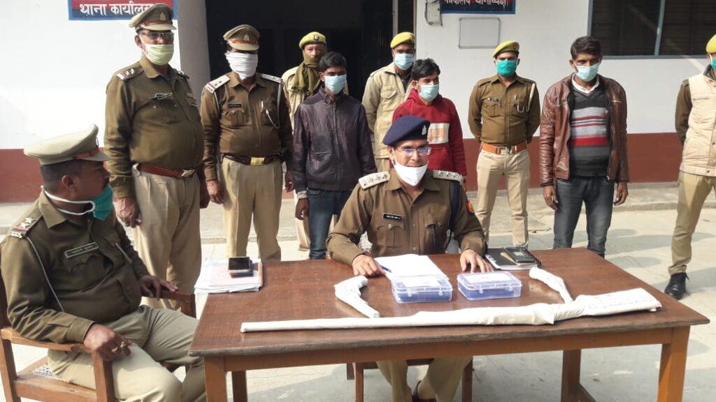 Breaking बरेली: पुलिस मुठभेड़ में 3 शातिर गिरफ्तार