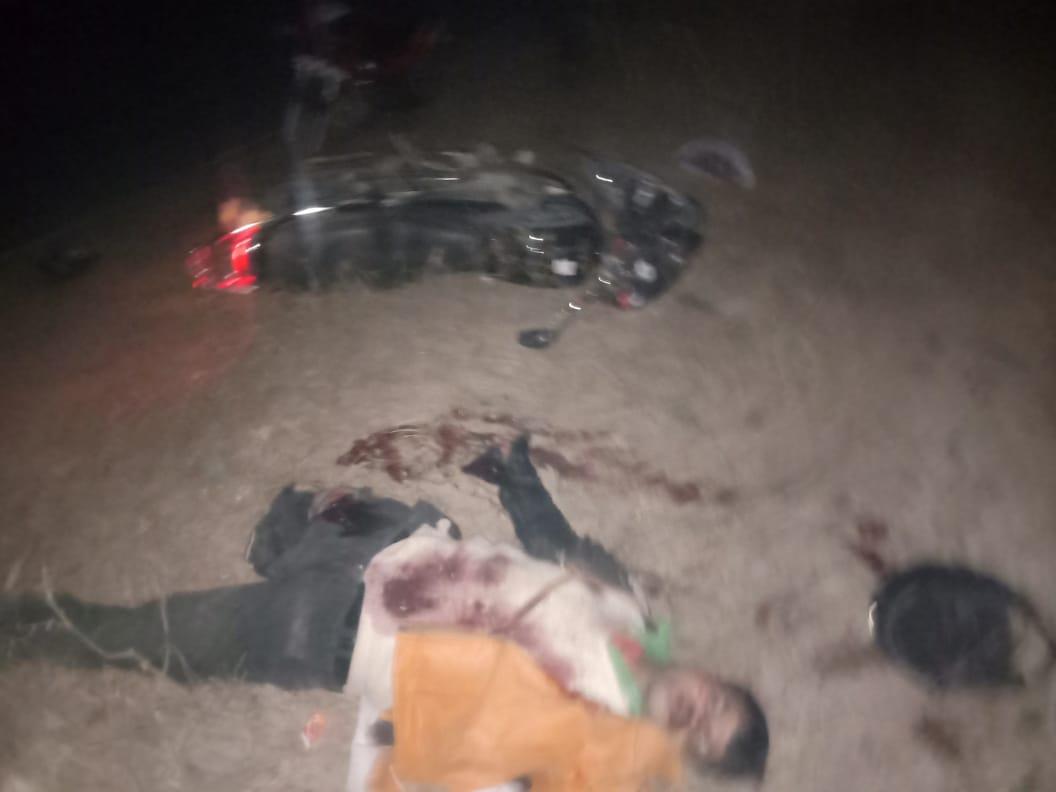 धनेटा फाटक के पास बेकाबू 108 एंबुलेस ने बाइक सवार चचेरे-तएरे भाइयों को रौंदा, दोनों की दर्दनाक मौत