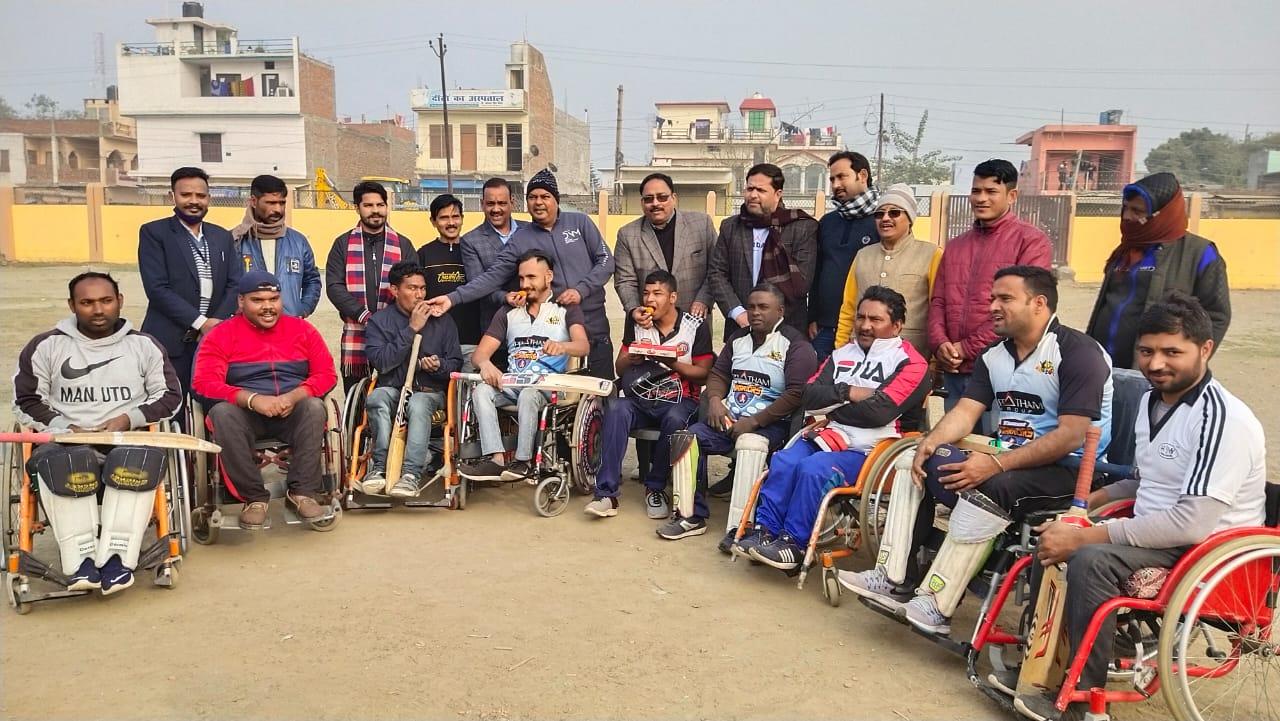 टीम इंडिया की शानदार जीत पर मनाया गया जश्न