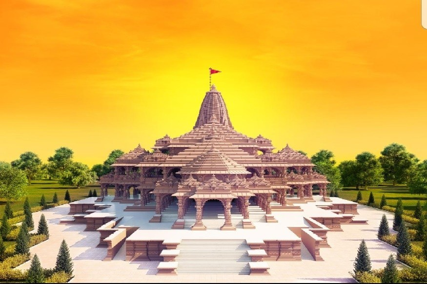 राम मंदिर निर्माण को राष्ट्रपति ने दिए पांच लाख रुपये का चंदा