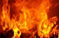 बरेली के सेक्रेट हार्ट स्कूल में भीषण आग, कई बसें जली, इमारत को बड़ा नुकसान