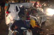 गदरपुर में बरेली के बारातियों की कार ट्रैक्टर-ट्राली से टकराई, दो लोगों की मौत, तीन जख्मी