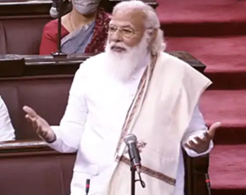 कांग्रेस नेता गुलाम नबी आजाद को सच्चा दोस्त बताकर राज्यसभा में भावुक हो गए PM नरेंद्र मोदी