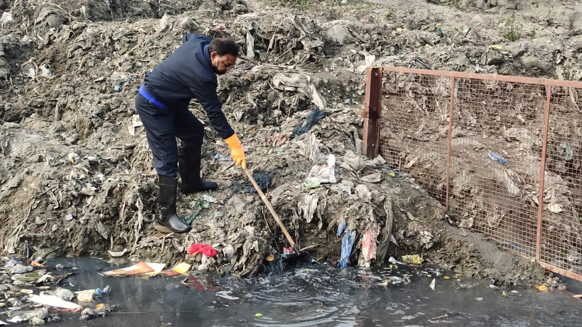 मेयर रामपाल ने कहा कि कल्याणी नदी को मिलेगा उसका मूल स्वरूप