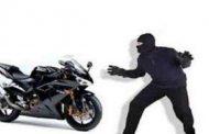 चोरों ने शहर से फिर उड़ाई बाइक