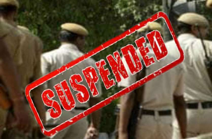 अवैध वसूली के मामले में आरोपी दरऊ चौकी इंचार्ज बेलवाल समेत कई पुलिसकर्मी निलंबित