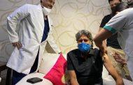 विश्व कप विजेता कप्तान कपिल देव ने लगवाई कोविड-19 वैक्सीन की पहली डोज