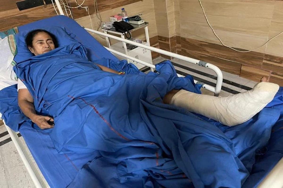घायल हुईं ममता बनर्जी को 'पैर, कंधे और गले में' लगी चोट, 2 दिनों के लिए अस्पताल में ही रहेंगी