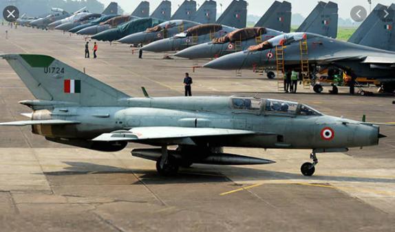 भारतीय वायुसेना का MiG-21 बाइसन विमान दुर्घटनाग्रस्त, ग्रुप कैप्टन की मौत