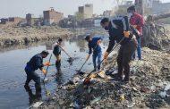 कल्याणी नदी की सफाई की, नुक्कड़ नाटक के जरिए द्रोण कॉलेज ने दिया संदेश