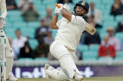 पंत ने जड़ा अर्द्धशतक, भारत ने पार किया इंग्लैंड का स्कोर