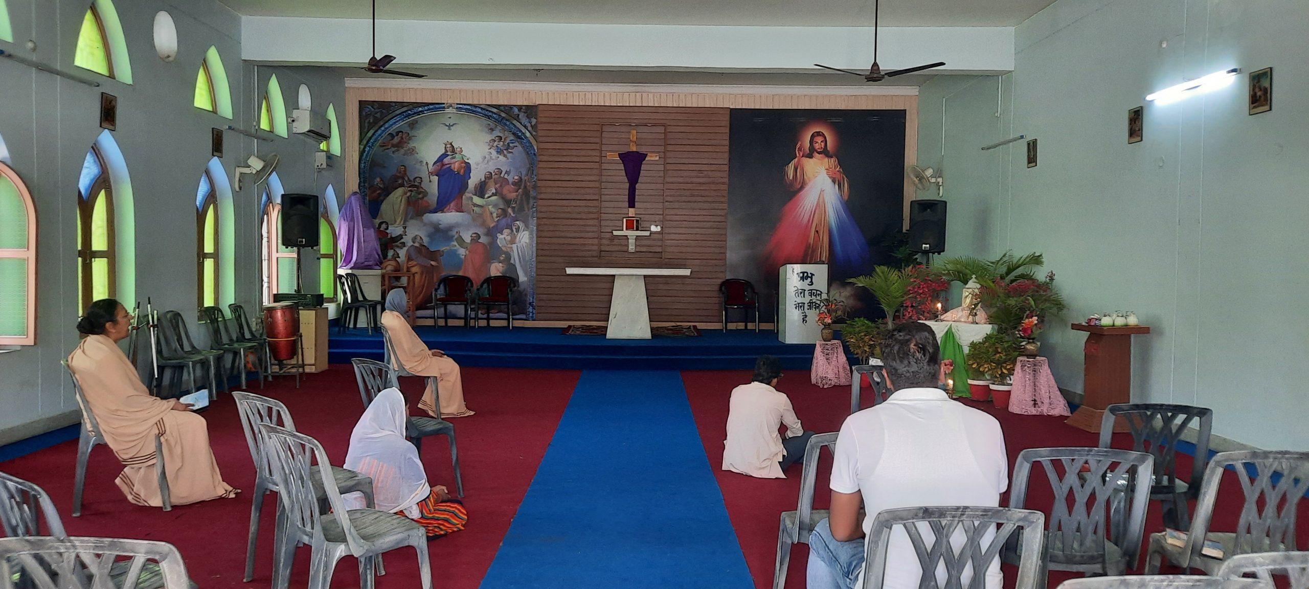 श्रद्धा से मनाया गया गुड फ्राइडे का पर्वशहर के विभिन्न गिरजाघरों में श्रद्धालुओं ने प्रभु यीशु मसीह का किया पूजन