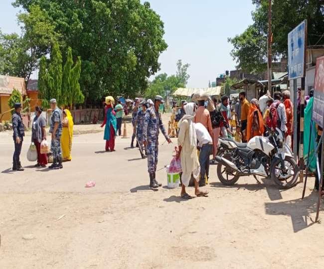 कोरोना संक्रमण के कारण भारत-नेपाल सीमा फिर सील, बॉर्डर से वापस किए जा रहे लोग
