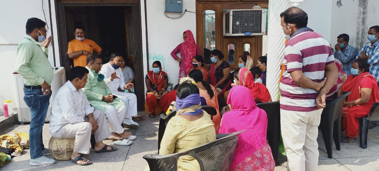 अंबिका विहार कॉलोनी में शीघ्र होगा मार्ग निर्माण : रामपाल