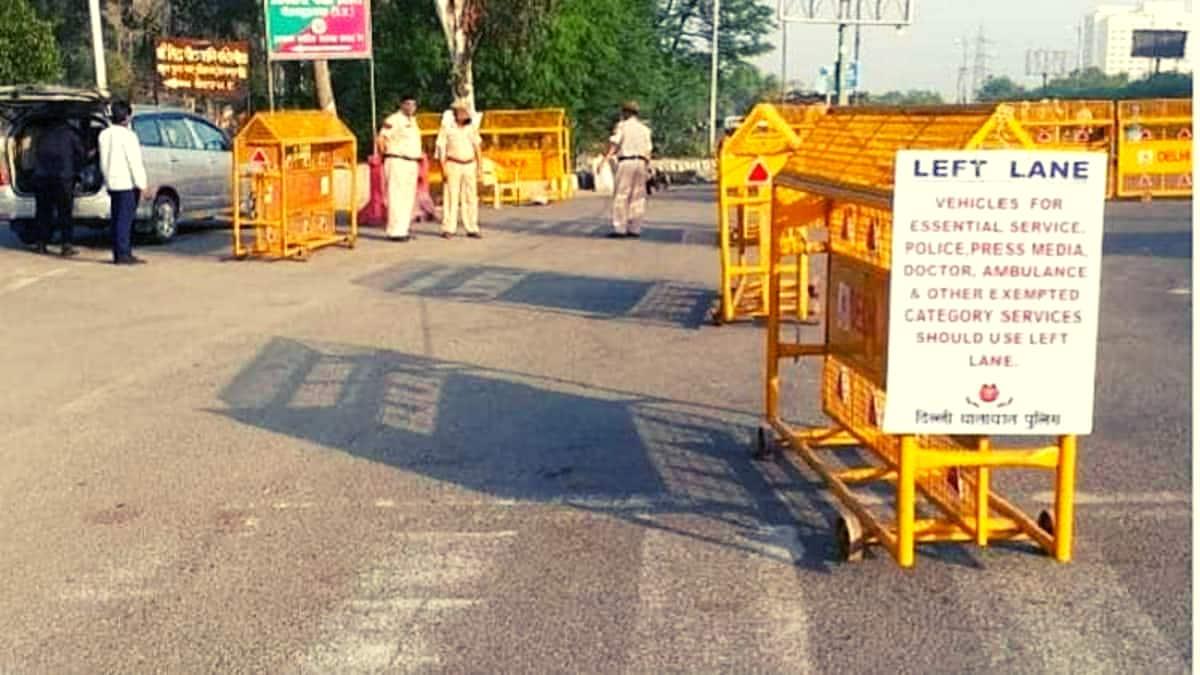 दिल्ली में रिकॉर्ड कोरोना मामले आने के बाद आज रात से अगले सोमवार तक सम्पूर्ण कर्फ्यू