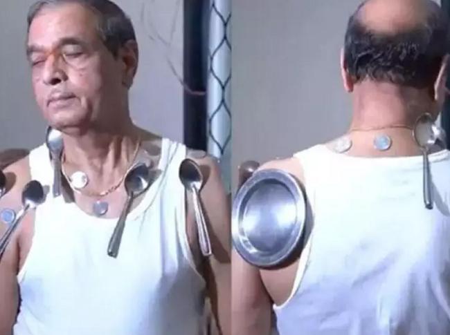 कोरोना वैक्सीन की दूसरी डोज लेने से शरीर से चिपक रहे बर्तन
