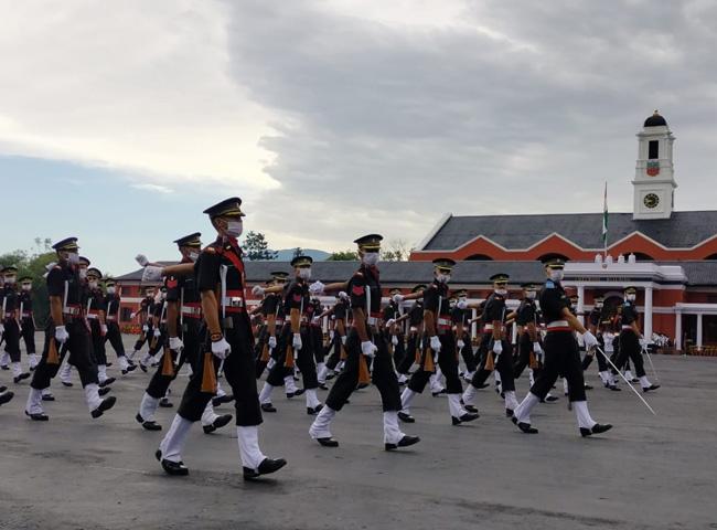 भारतीय सेना को मिले 341 युवा अधिकारी, 84 विदेशी कैडेट भी हुए पास आउट