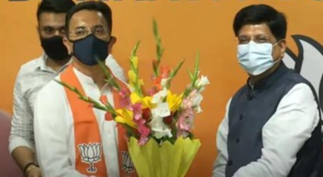 यूपी चुनाव से पहले कांग्रेस को झटका, बीजेपी में शामिल हुए जितिन प्रसाद
