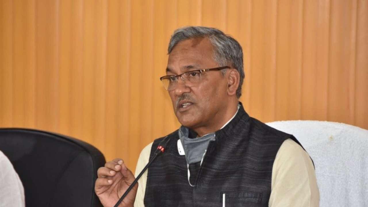 त्रिवेंद्र बोले- मुख्यमंत्री की रेस में मेरा नाम नहीं