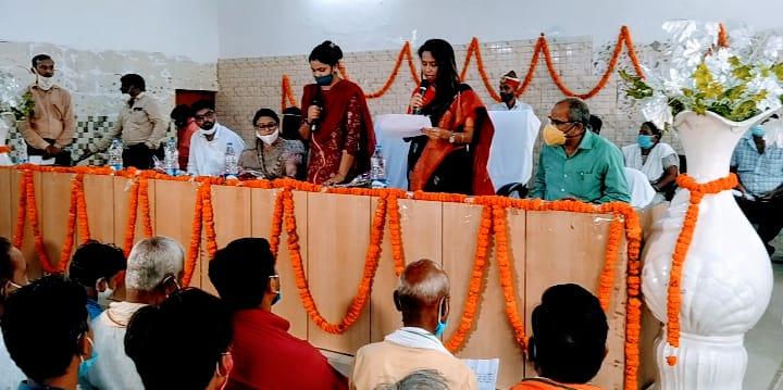 लखीमपुर खीरी जिले में 9 महिला ब्लॉक प्रमुख ने ली शपथ, 5 ब्लॉक में महिला आरक्षण में मिला था मौका