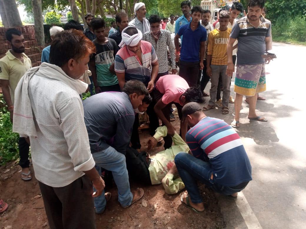 लखीमपुर में बस की टक्कर से दो की मौत, तीसरा गम्भीर