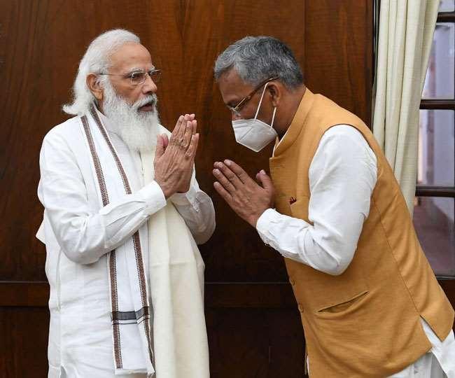 प्रधानमंत्री मोदी और गृह मंत्री शाह से मिले पूर्व सीएम त्रिवेंद्र, दिया जा सकता है उत्तर प्रदेश का प्रभार