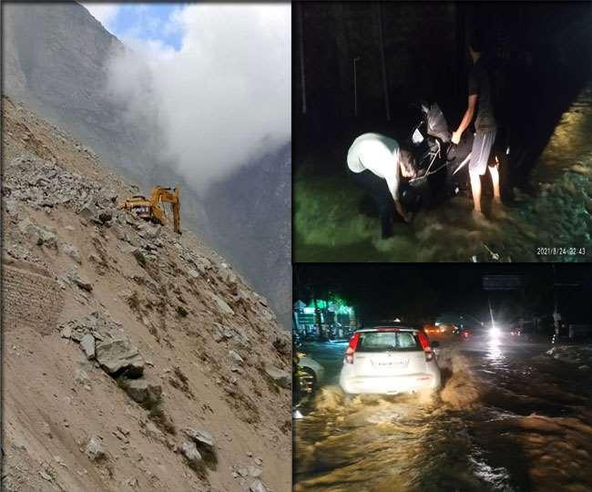उत्तराखंड : आफत बनकर बरस रही बारिश, देर रात खबड़ावाला में फटा बादल, नदी-नाले उफान पर