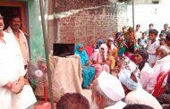 गोला विधायक ने अमीननगर इलाके में अन्न महोत्सव में लिया हिस्सा