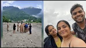 गंगा में बहे मुंबई के एक युवक और दो युवतियों की तलाश में आज चलेगा सर्च अभियान