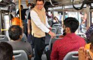 मुख्यमंत्री धामी ने आइएसबीटी का किया औचक निरीक्षण, बस में चढ़कर यात्रियों से की बात, अफसरों में हड़कंप