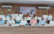 खीरी में आयुष्मान भारत दिवस पर हुआ कार्यक्रम, विधायक ने बांटे गोल्डन कार्ड