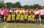 लखीमपुर के गोला में पब्लिक कॉलेज कप प्रादेशिक फूटबाल टूर्नामेंट का हुआ शुभारंभ