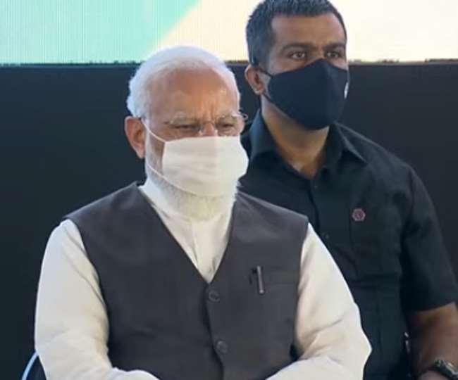 प्रधानमंत्री नरेन्द्र मोदी पहुंचे एम्स ऋषिकेश, आक्सीजन प्लांट का करेंगे उद्घाटन